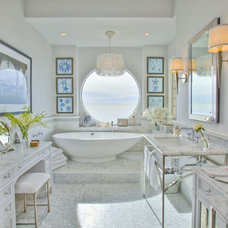 Traditional Bathroom by Barbara Grushow Designs LLC