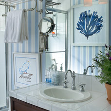 Mediterranean Bathroom by Tracy Murdock Allied ASID