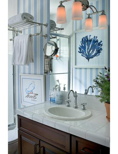 Mediterranean Bathroom by Tracy Murdock Allied ASID