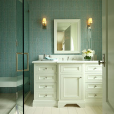 Traditional Bathroom by Kathryne Designs, Inc