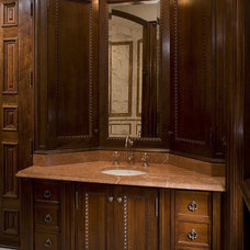 Traditional Bathroom by Cravotta Interiors