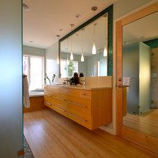 Contemporary Bathroom by Green Mountain Construction