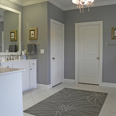 Transitional Bathroom by Sarah Greenman