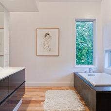 Contemporary Bathroom by Design Build Office