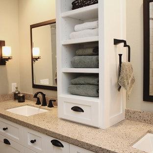 Bathroom - traditional bathroom idea in Orange County