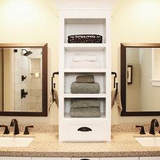 Traditional Bathroom by Principle Design & Construction