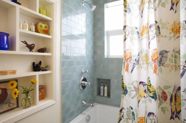 Shabby-chic Style Bathroom by Vidal Design Collaborative