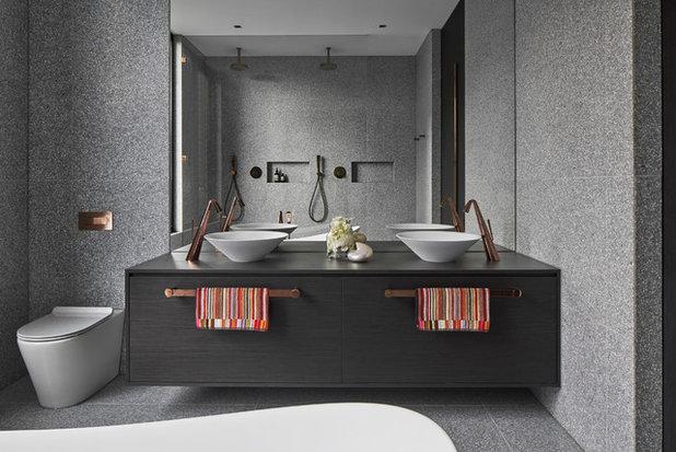 Modern Bathroom by Studio Lancini
