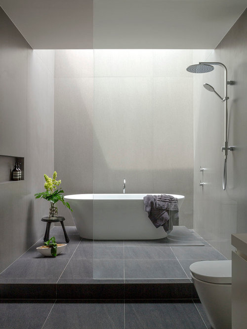 Modern bathroom design ideas renovations photos with an for Bathroom decor melbourne