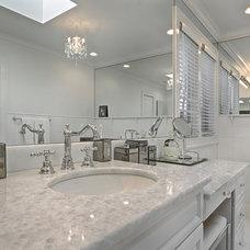 Traditional Bathroom by Rye Marble Inc