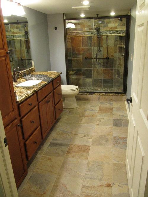 Southwestern Cleveland Bath Design Ideas