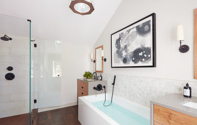New Layout Takes Master Bath From Awkward to Awesome
