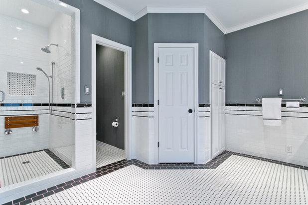 Unique Traditional Bathroom by Hatfield Builders u Remodelers