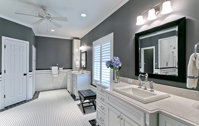 Awesome Room of the Day Room of the Day Master Bath Gets an Elegant Remake
