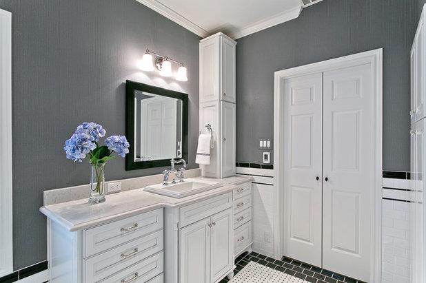 Cool Traditional Bathroom by Hatfield Builders u Remodelers