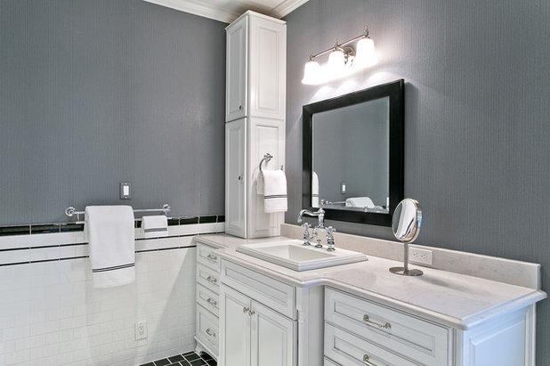 Simple Traditional Bathroom by Hatfield Builders u Remodelers