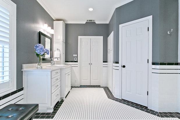 Vintage Traditional Bathroom by Hatfield Builders u Remodelers