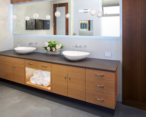 Double Vanity Bathroom Houzz double vanity vessel sinks | houzz
