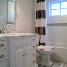 Traditional Bathroom by The Property Sisters