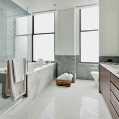 contemporary bathroom by Shelley Starr Design