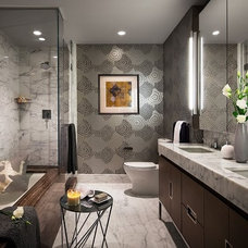 Modern Bathroom by Terrat Elms Interior Design