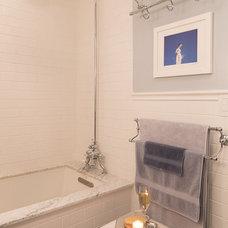 Contemporary Bathroom by Virginia Bishop Interiors