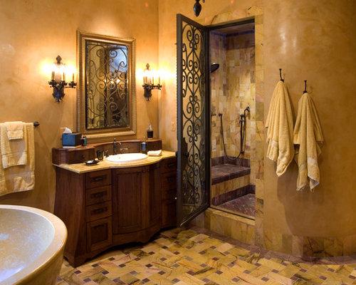 SaveEmail. Doors Wrought Iron Bathroom Design Ideas  Remodels  amp  Photos