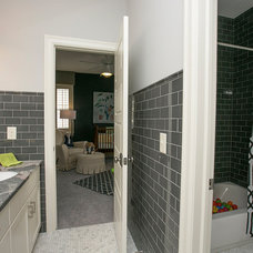Transitional Bathroom by Couture Designs
