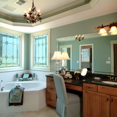 Traditional Bathroom by Peek Design Group