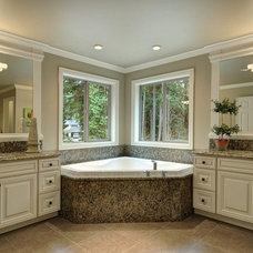 Traditional Bathroom by DFW Design & Remodeling LLC