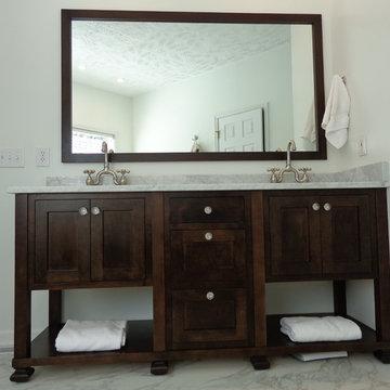 Maple furniture vanity