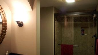 Maple Grove Basement Bath