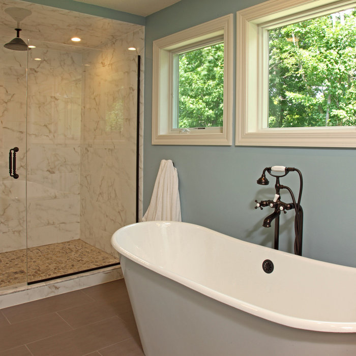 Maple Grove Master Bathroom