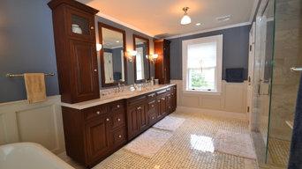 Maplewood NJ Master Bathroom Renovation