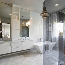Contemporary Bathroom by Shelby Wood Design