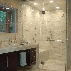 Contemporary Bathroom by Hilsabeck Design Associates, Inc.