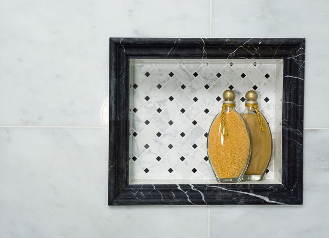 Traditional Bathroom by American Tile & Stone