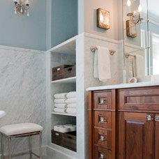 Traditional Bathroom by Bachmann Construction