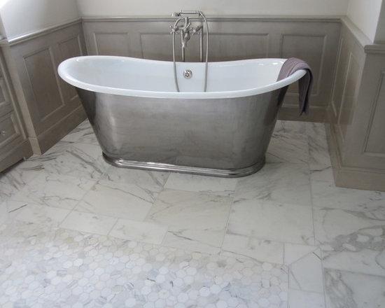 Traditional Marble Bathrooms marble bathroom floor   houzz