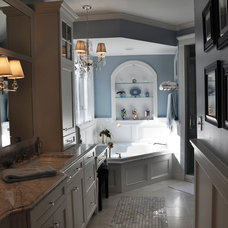 Traditional Bathroom by Kitchen & Bath Galleries