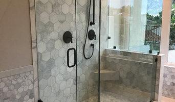 Marble hexagon Bathroom