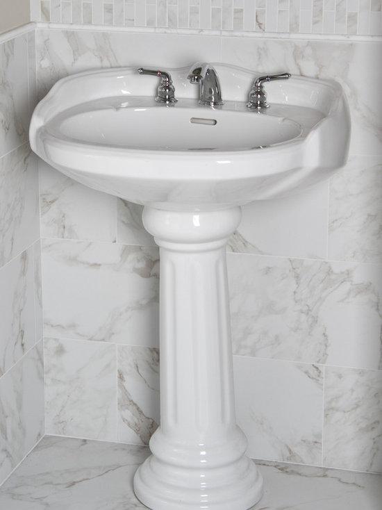 Porcelain Bathroom Tiles Part - 29: SaveEmail. Tileshop. 5 Reviews. Marble Look Porcelain Tile Bathroom ...