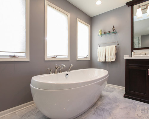 Double Bowl Vanity Houzz