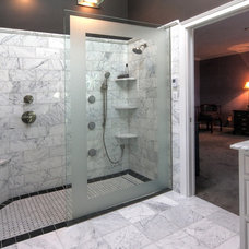 Traditional Bathroom by Mosby Building Arts