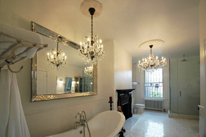 Traditional Bathroom by Merrick Design and Build Inc.