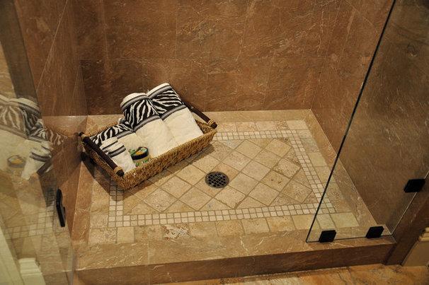 Tropical Bathroom by All Tile