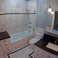Traditional Bathroom by Continuum Tile Co.