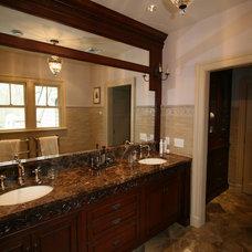 Traditional Bathroom by Bridgewater Marble & Granite LLC