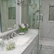 Traditional Bathroom by Anita Clark Design