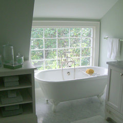 traditional bathroom by Molly Frey Design